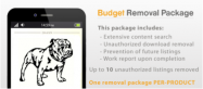 Budget Removal Package